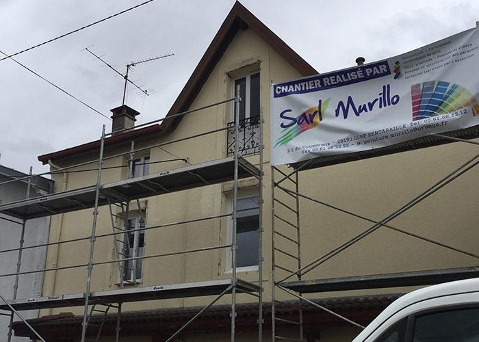 SARL Murillo, entreprise de peinture